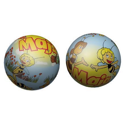 LENA® Ballon souple Maya l'abeille, 6,5 cm