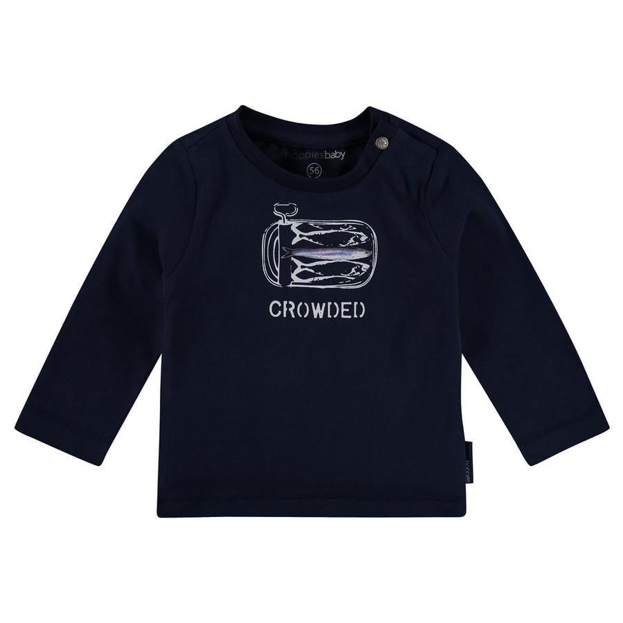 noppies Košile s dlouhým rukávem Manteca tmavě modrá