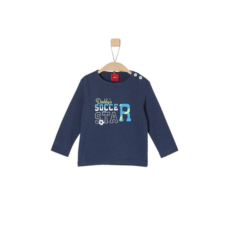 s.Oliver Boys Langarmshirt dark blue