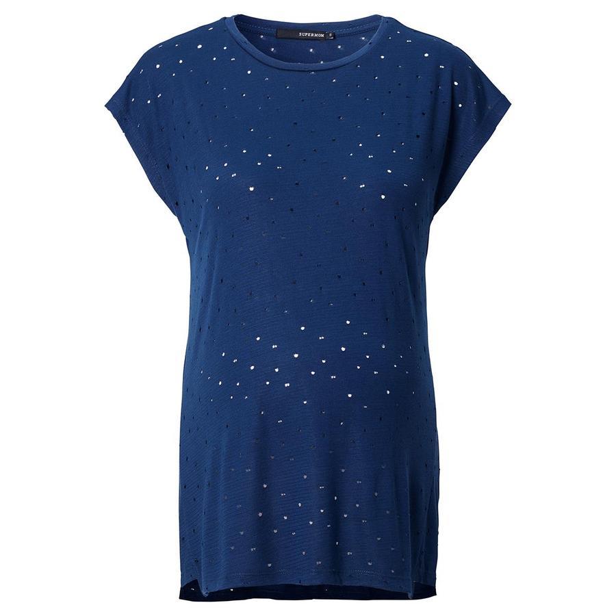 SUPERMOM Koszula ciążowa Blue