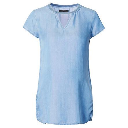 SUPERMOM Blusa de Maternidad Denim Azul Claro