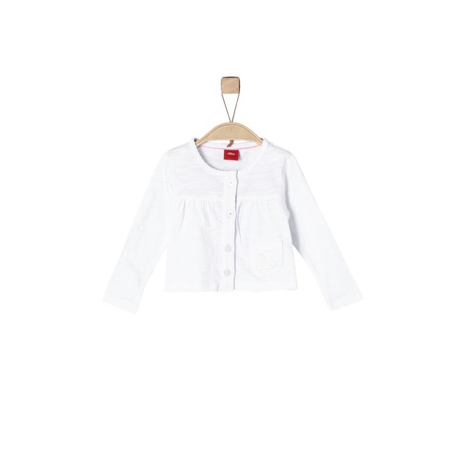 s.Oliver Girl s Veste Sweat blanc