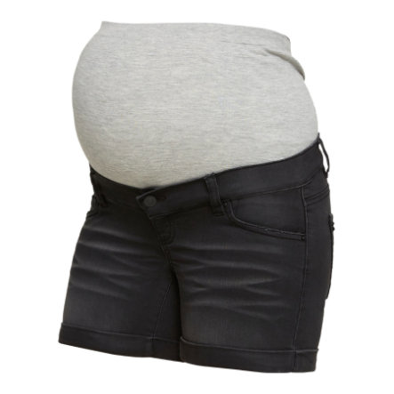 Mama Licious Shorts MLCOLOR black denim