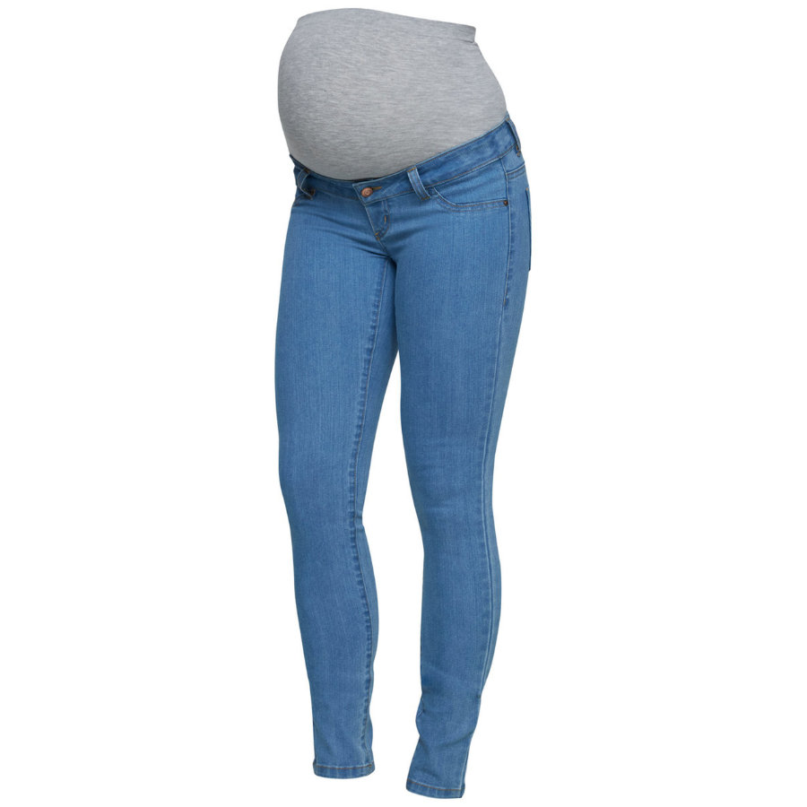 mama licious Jeans de maternité MLJULIA denim bleu clair