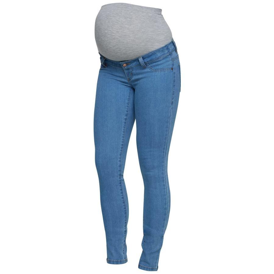 Mama Licious Jeans MLJULIA light blue denim