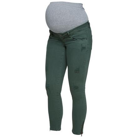 mama licious Jeans de maternité MLZEAL thym