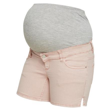 mama licious Pantaloncini Maternità MLCOLOR pesca