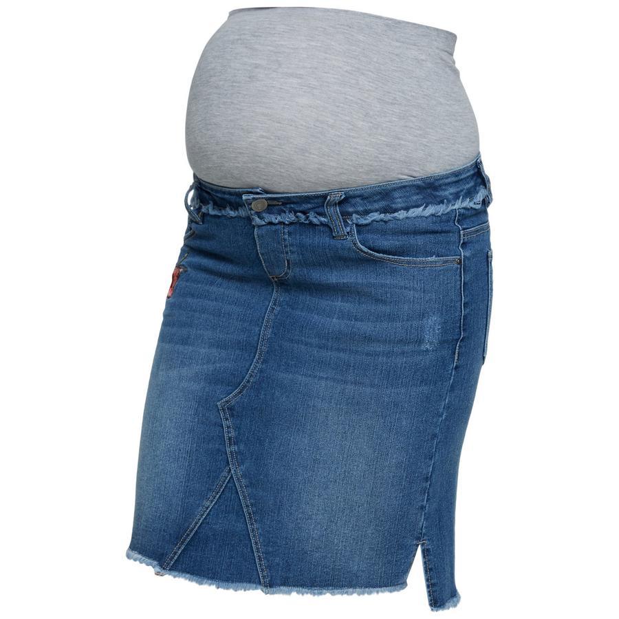 mama licious Spódnica macierzyńska MLRIGA jasnoniebieski denim