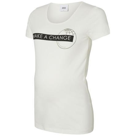 Mama Licious T-shirt MLUNICEF snow white