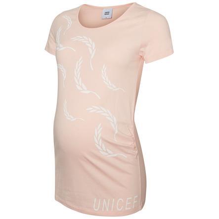 mama licious Moederschapsoverhemd MLUNICEF zeeschelp roze