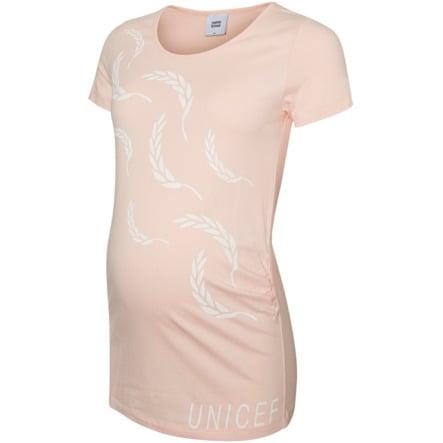 mama licious těhotenské tričko MLUNICEF  seashell pink