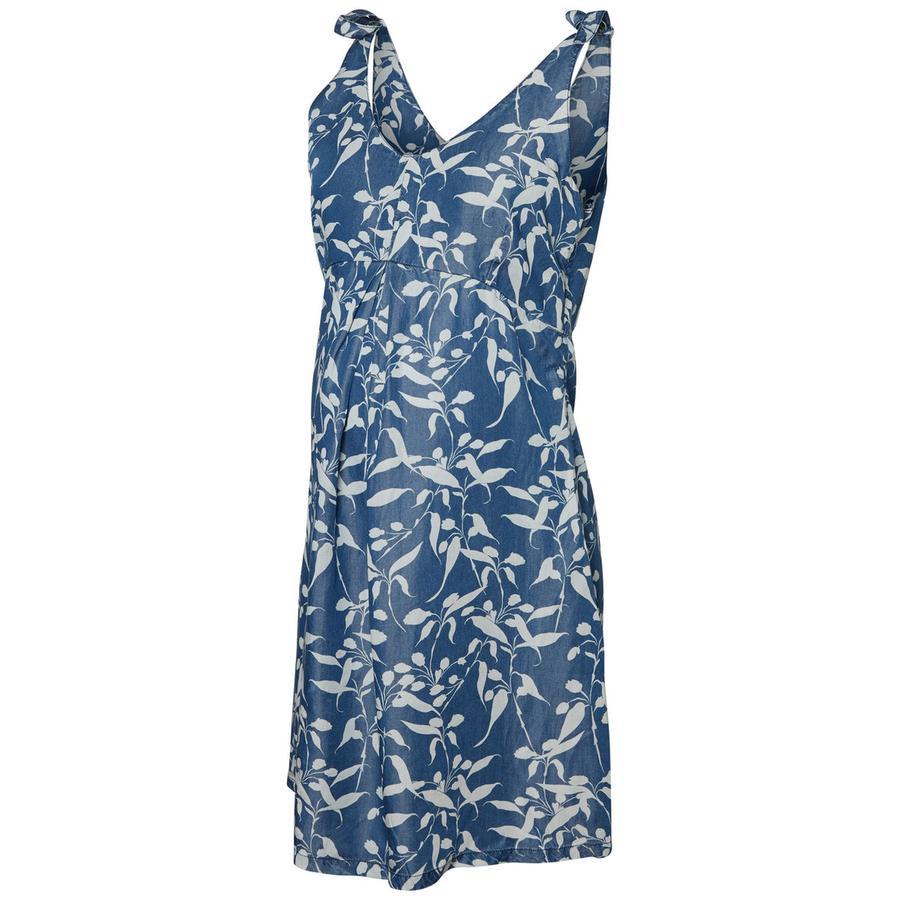 mama licious Suknia ciążowa MLJULIANA chambray niebieski