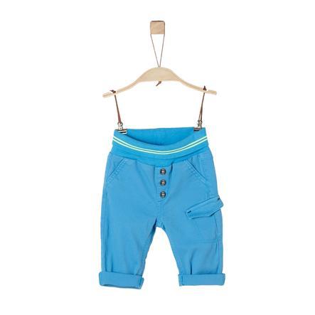 s.Oliver Boys Pantalon bleu clair