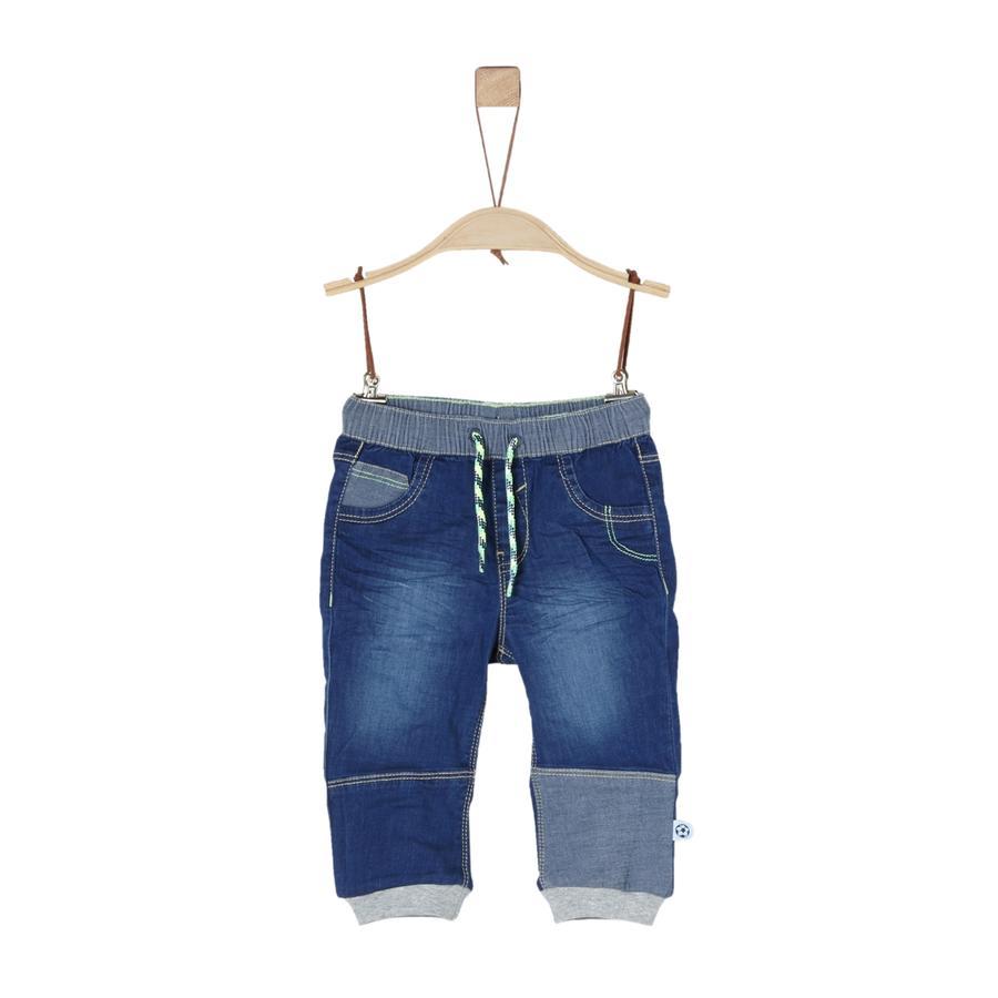s.Oliver Boys Jeans blauw denim niet rekbaar