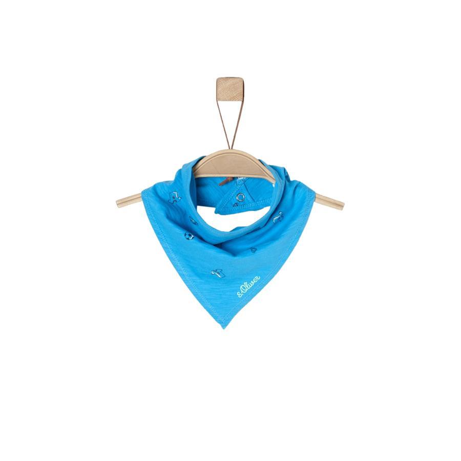 s.Oliver Boys Driehoekige sjaal turquoise sjaal