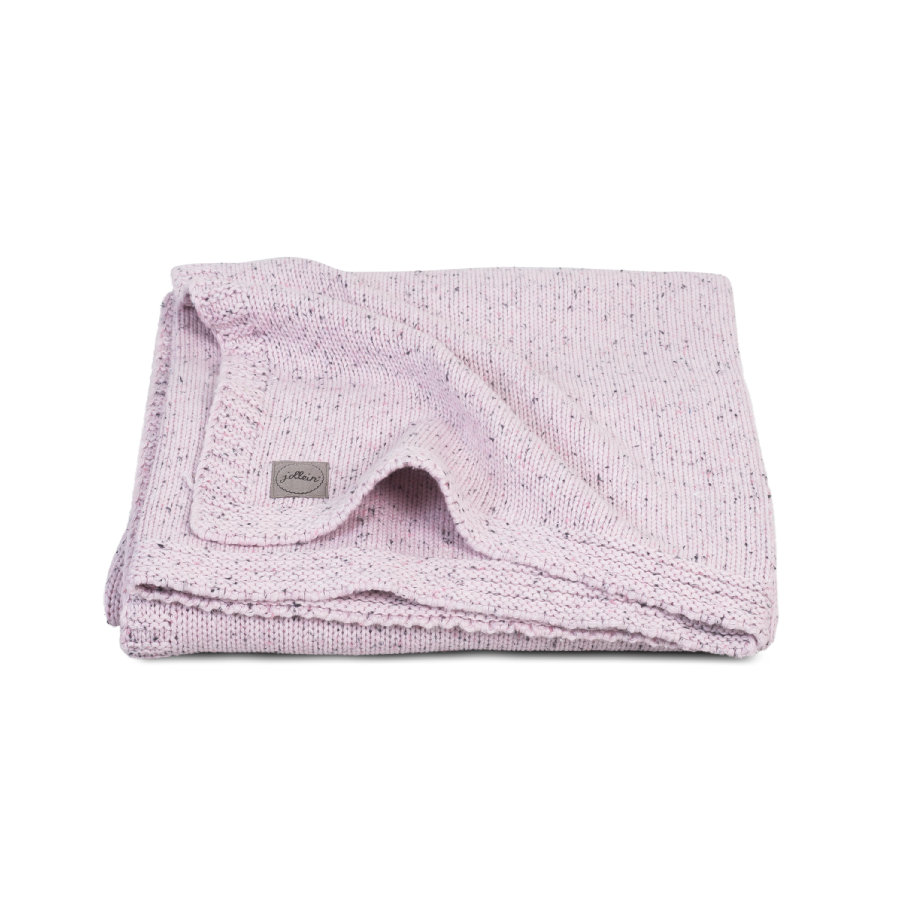jollein Strikket tæppe Vintage pink 100x150cm