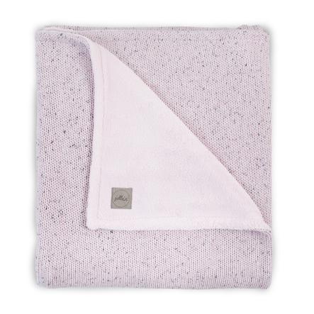 jollein Pletená deka Soft vintage pink 100x150cm