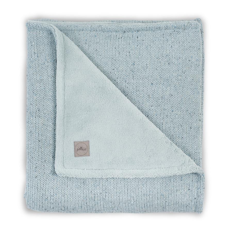 Jollein Deken Knit Soft stone green 100 x 150cm