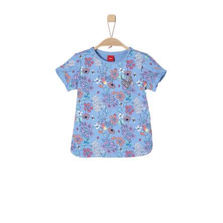 s.Oliver Girl s T-Shirt lichtblauw