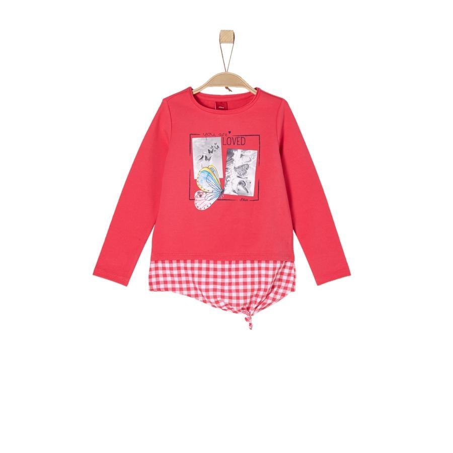 s.Oliver Girls Sweatshirt rød