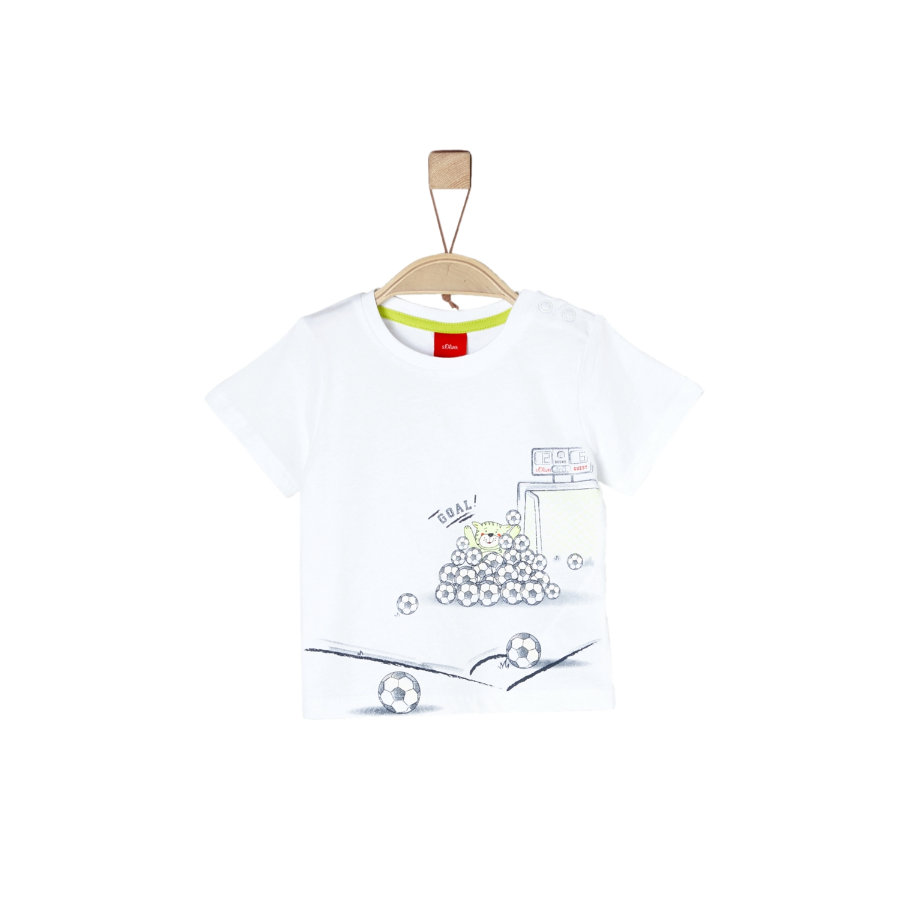 s.Oliver Boys T-Shirt bianco