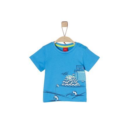 s.Oliver Boys T-Shirt jasnoniebieski