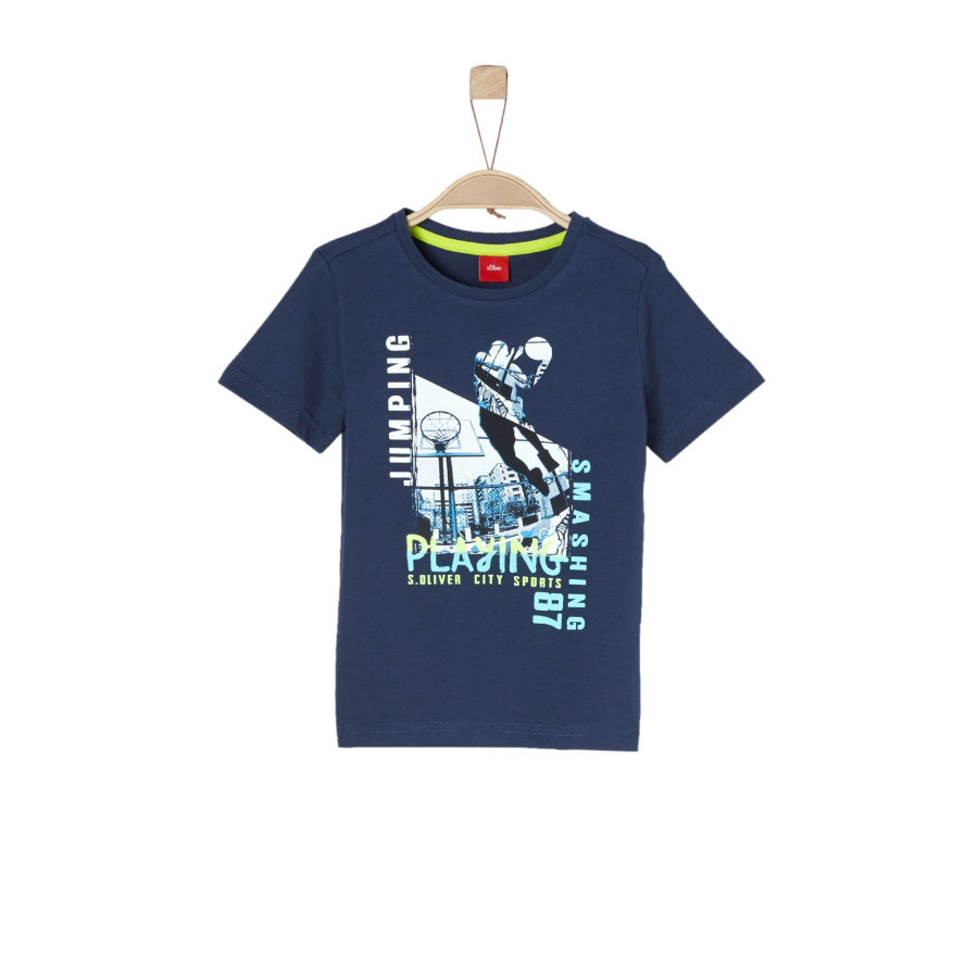 s.Oliver Boys T-Shirt blu scuro