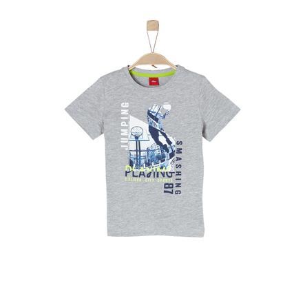 s.Oliver Boys T-Shirt light grey melange
