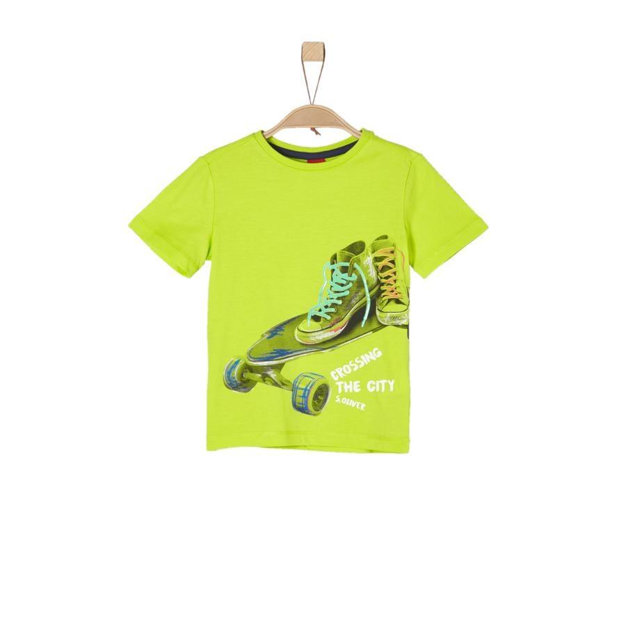s.Oliver Boys T-Shirt verde chiaro