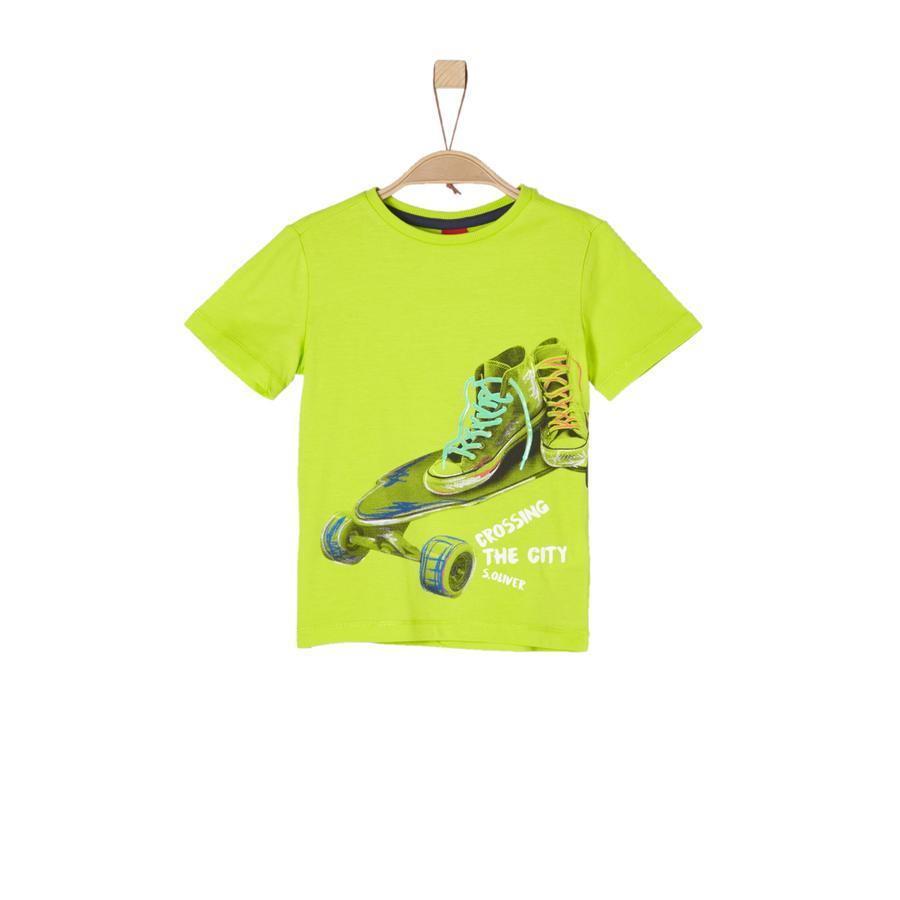 s. Oliver Poikien t-paita vaaleanvihreä