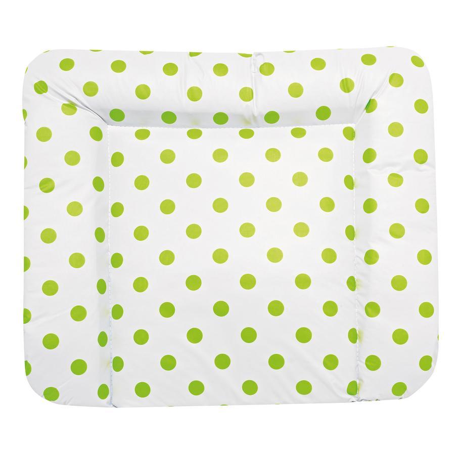 Alvi Wickelauflage Molly klein Schlafmütze grün 70x53 cm