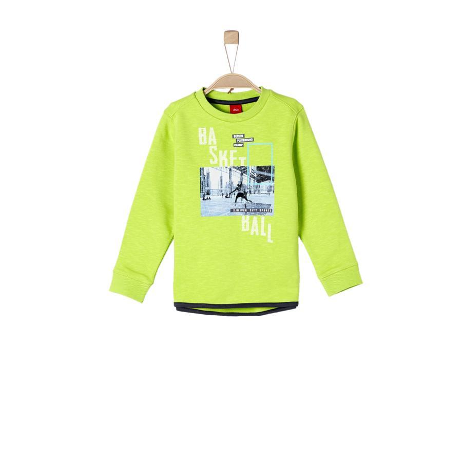 s.Oliver Boys Sweatshirt lichtgroen