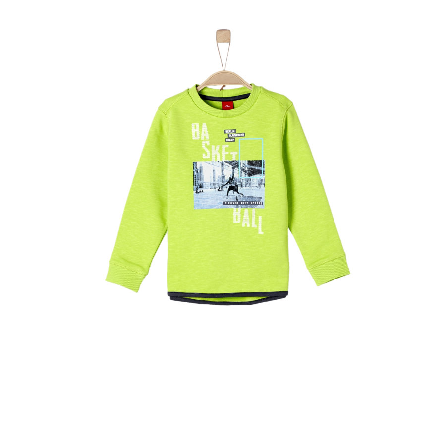 s.Oliver Boys Sweatshirt light green