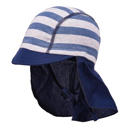 maximo Jongens S child cap grijs-blauw-medico