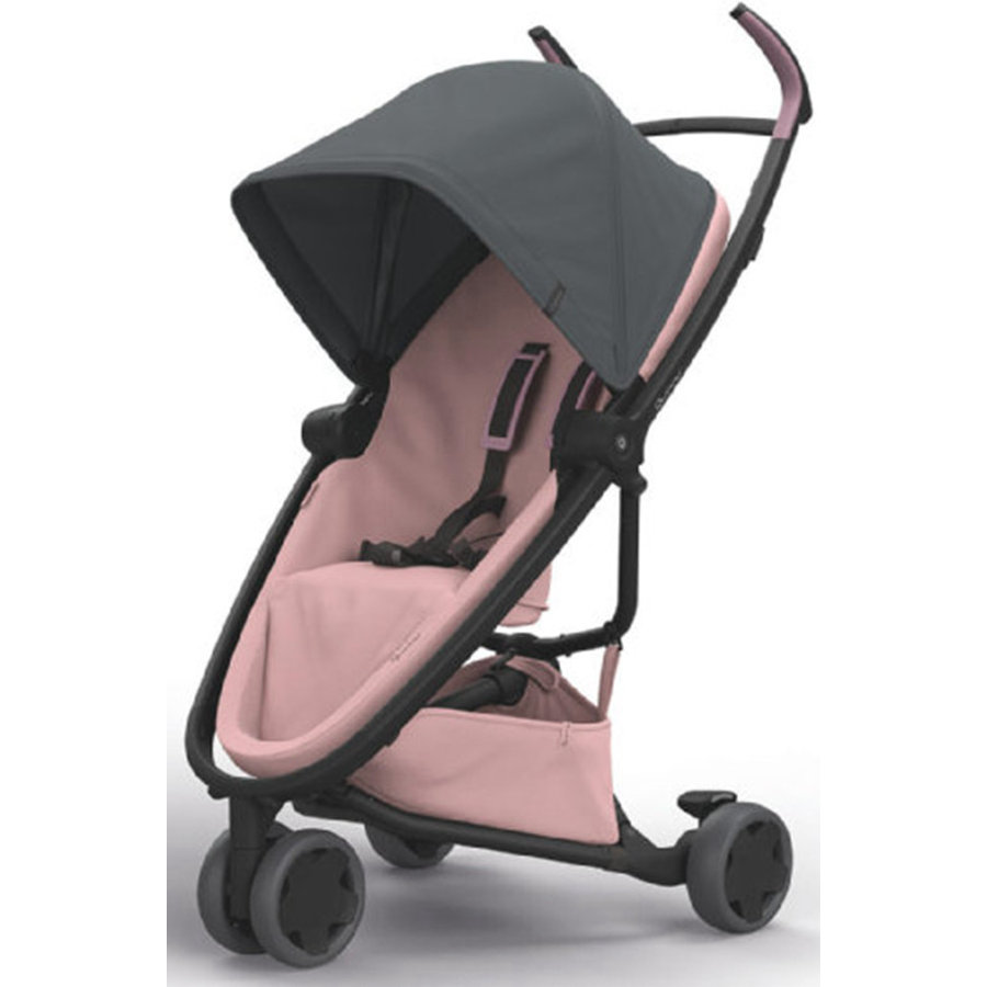 Quinny Buggy Zapp Flex gris grafito on blush