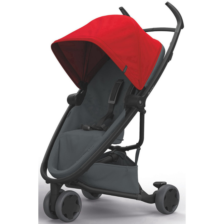 Quinny Buggy Zapp Flex Red on Graphite