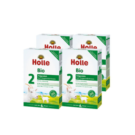 HOLLE Bio Follow-On 2 Goat Milk Base 4x400g