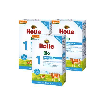HOLLE Bio 1 Infant Formula 3x400g