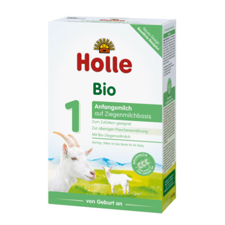 HOLLE Bio Infant Formula 1 Goat Milk Base 400g