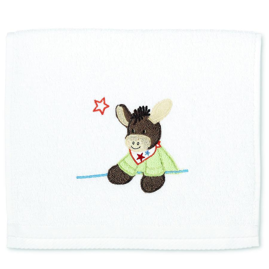 Sterntaler barnehåndkle Emmi hvit