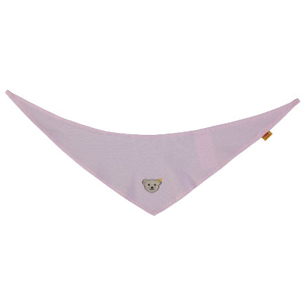 Steiff Girl Bufanda triangular, rosa