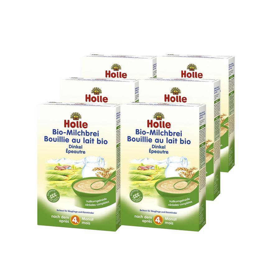 HOLLE Bio Milk Mash Spelt 6 x 250g