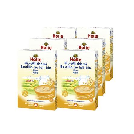 HOLLE Bio Milk Mash Millet 6 x 250g