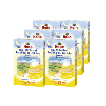 HOLLE Bio Milk Mash Banana 6 x 250g