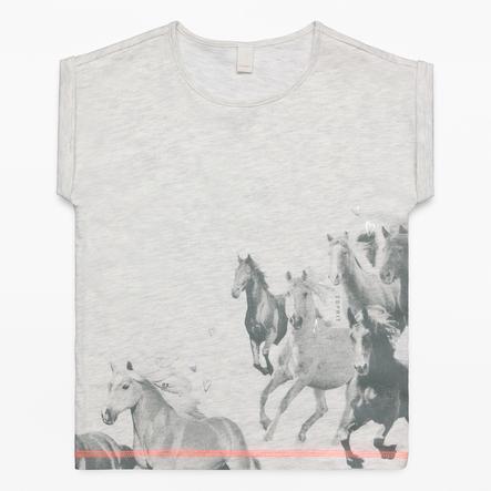 ESPRIT Girl krem T-Shirt wrzosowy