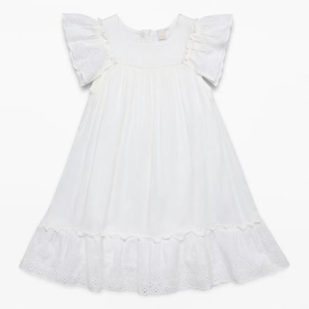 ESPRIT Girl s vestido blanco