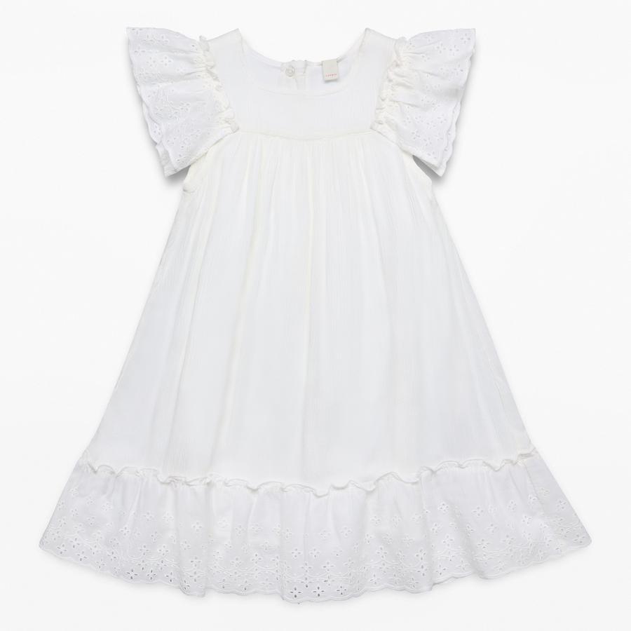 ESPRIT Girls Kleid white