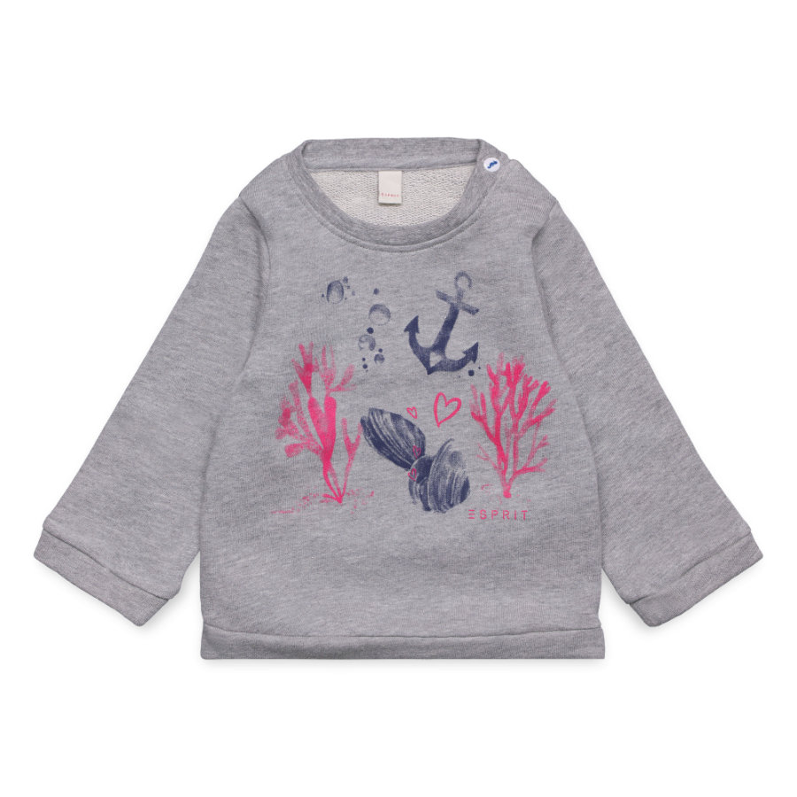 ESPRIT Girls Sweatshirt heather grey