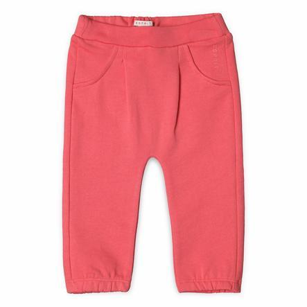 ESPRIT Girl s Pantalon de survêtement corail
