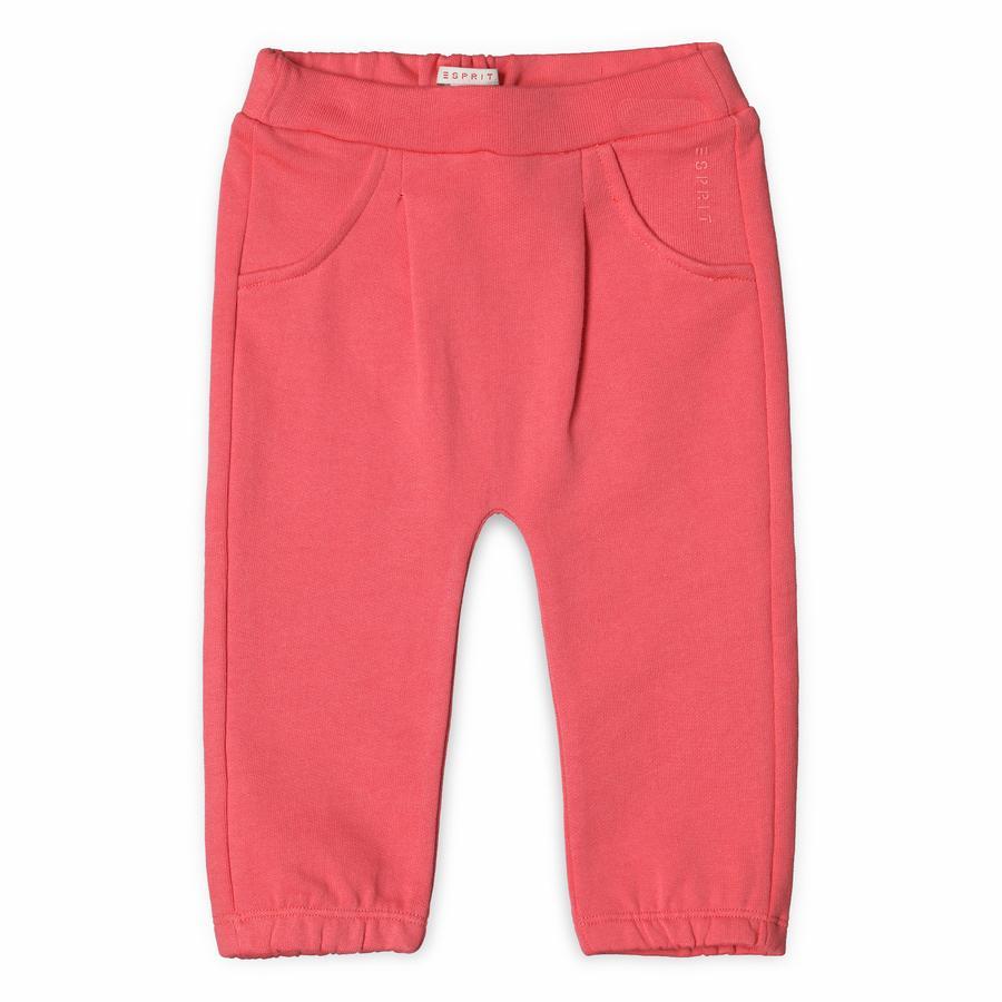 ESPRIT Girl s Pantaloni da tuta in corallo